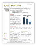 SAVE ACT factsheet