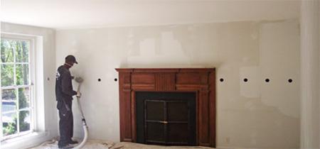 Wall Dense Pack Cellulose Insulation Retrofit Interior Install