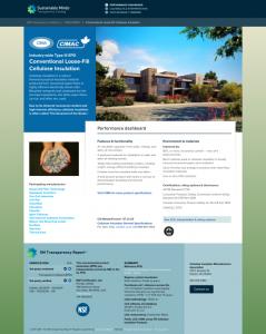 CIMA Cellulose Insulation EPD Thumbnail