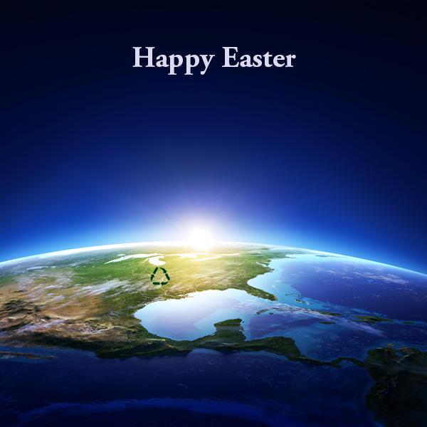 Happy Easter Sunrise From Fiberlite Tech