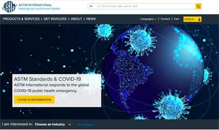 ASTM Website Link Image